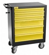 Servante 6 tiroirs professionnelle - Dimensions (LxHxP) cm : 44 x 90 x 67,5