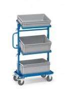 Servante atelier 3 bacs - Charge (kg) : 200 - Norme EN 1757-3