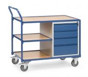 Servante d'atelier à 4 tiroirs - Charge (kg) : 300 - Norme EN 1757-3
