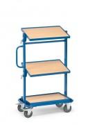 Servante d'atelier à plateau inclinable - Charge (kg) : 200 - Norme 1757-3