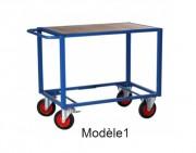 Servante d'atelier à plateaux - Charge utile (kg) : 500