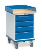 Servante d'atelier à tiroirs Charge 150 Kg - Charge (kg) : 150 - Norme EN 1757-3