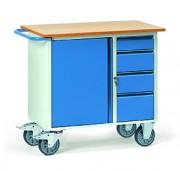 Servante d'atelier à tiroirs Charge 400 Kg - Charge (kg) : 400 - Norme européenne EN 1757-3