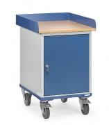 Servante d'atelier avec placard - Charge (kg) : 150 - Norme EN 1757-3