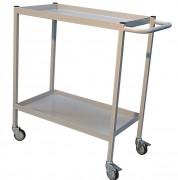 Servante d'atelier en tôle acier - À 2 ou 3 plateaux - Capacité: 150 Kg