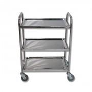 Servante d'atelier inox - Capacité : 100 kg