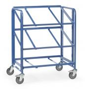 Servante d'atelier pour bacs plastiques - Charge (kg) : 200 - Norme 1757-3