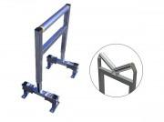 Servante d'atelier rouleau acier - Capacité: 40 Kg - Pour charges longues
