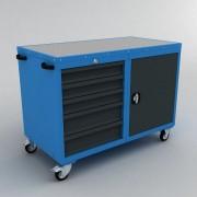 Servante monobloc 5 tiroirs et coffre - Servante 5 tiroirs + coffre