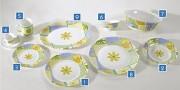Service assiette complet - Service de table Valensole