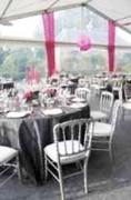 Service décoration signalétique événementielle - Vélums, plantes, habillage tissus, mobilier, podiums, barriérage,...
