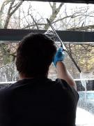Service nettoyage baie vitrée - Équipe qualifiée et matériel spécifique