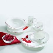 Service vaisselle moderne - Matériaux : Porcelaine, Opal, faïence, grès