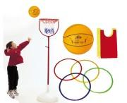 Set de basketball pour enfants - Contenance : 34 éléments