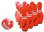 Set bowling soft - Contenance : 1 boule + 10 quilles