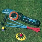 Set de Golf pour enfant - 3 clubs différents + 3 cible+2 tees + 4 balles en mousse
