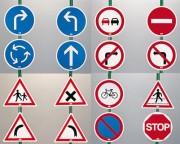 Set de panneau de signalisation - Initiation au code de la route