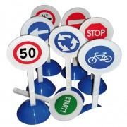 Set de prévention routière pour enfants - 8 panneaux