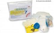 Set de protection pour épidémie virale - Set de protection individuel / 2 ambulanciers