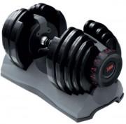 Set haltère automatique 24 kg - Poids variables entre 2.5 et 24 kg en 15 paliers de 1 à 2 kg