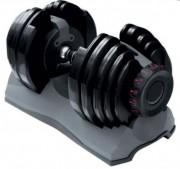 Set haltère automatique 40 kg - Poids variables : 2.5 à 40 kg