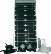 Set photovoltaïque ESK 20 - 20 Watts - 110386-62
