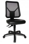 Siège à assise mobile tridimensionnelle - Profondeur d'assise : 46 cm - Hauteur de dossier : 42 (53) cm