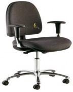 Siège antistatique GREF 250 BR - Assise ergonomique large et confortable