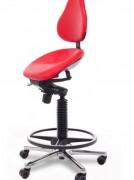 Siège assis debout ergonomique Semi-Sitting Swing - Assise basculante, plusieurs tailles de vérin