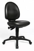 Siège bureau en assise moulée - Profondeur d'assise : 43 cm - Hauteur dossier : 43 cm