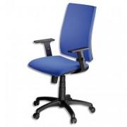 SIEGE Chaise dactylo INFINITA cagliari noir 65x38x70 cm - NOWY STYL