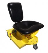 Siège d'atelier ergonomique - Conforme aux normes de sécurité