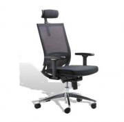 Siège de bureau avec appuie-tête - Hauteur de siège 1050 -1170 mm