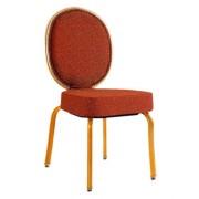 Siège de conférence rembourrée en tissu - Chaise rembourrée en tissu