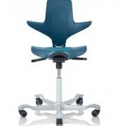 Siège de travail ergonomique Capisco - Siège à roulettes avec assise réglable en hauteur