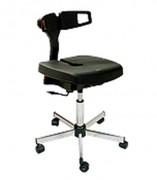 Siège ergonomique atelier - Hauteur d'assise réglable : de 610 à 855 mm