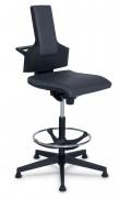 Siège ergonomique d'atelier - Piètement 5 branches : 720 mm
