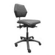 Siège ergonomique haut atelier ou bureau - Charge maximales de l'utilisateur : 120 kg