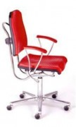Siège ergonomique Inoxydable - Assise: mousse polyuréthane