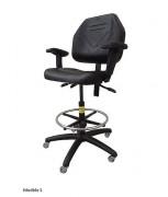 Siège ergonomique pour atelier - Siège réglable en hauteur
