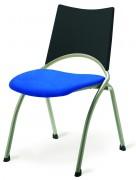 Siège réunion assise et dossier en tissu - Disponible en taille 6