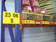 Signalétique de rayonnage - Étiquetage autocollant et magnétique