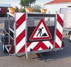 Signalisation des chantiers mobiles 1500 kg - Type B3