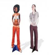 Silhouette en carton personnalisée - Taille forme découpée : 40/60 x 160 cm, 80/100 x 200 cm