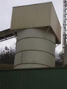 Silo boulonné avec cabanage - Etude et réalisation de silo boulonné avec cabanage