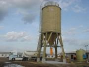 Silo de stockage - Avec Bride à souder sur le silo
