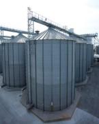 Silo pour stockage des céréales - Silos métalliques pour stockage et entreposage de grains