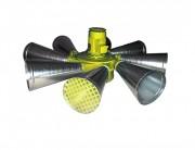 Sirène à turbine omnidirectionnelle 144 dB - Sirène à turbine omnidirectionnelle 144 dB moAT4 400/600V