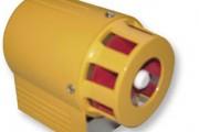 Sirène alarme électromécanique - Puissance sonore  : 127 dB(A) à 1 mètre