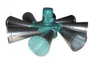 Sirène électromécanique rotative - Portée : 3 à 4 km